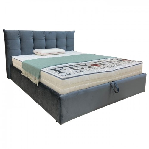 RIMA minkšta, su patalynės dėže, miegamojo lova