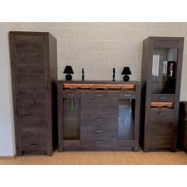 I1-1 svetainės, vaikų, miegamojo kambario baldų komplektas