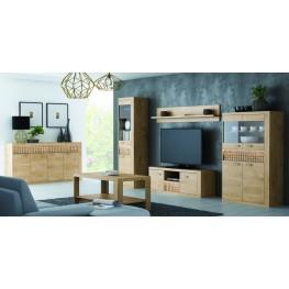 N-1 svetainės, vaikų, miegamojo kambario baldų sistema