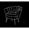 Neptūnas  fotelis, krėslas, kėdė