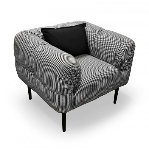 C17 Svetainės, miegamojo, valgomojo, prieškambario kambario krėslas-fotelis