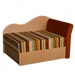 Miegamas fotelis NL paminkštintu porankiu