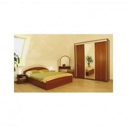 GRACIJA miegamojo komplektas, lova, spintelės, komodos, spinta