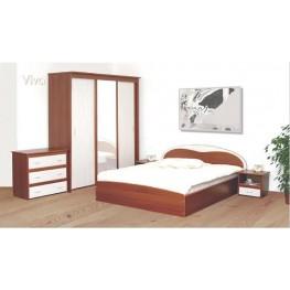 VIVA miegamojo komplektolovs, spintos, komodos, spintelės, kosmetinis staliukas
