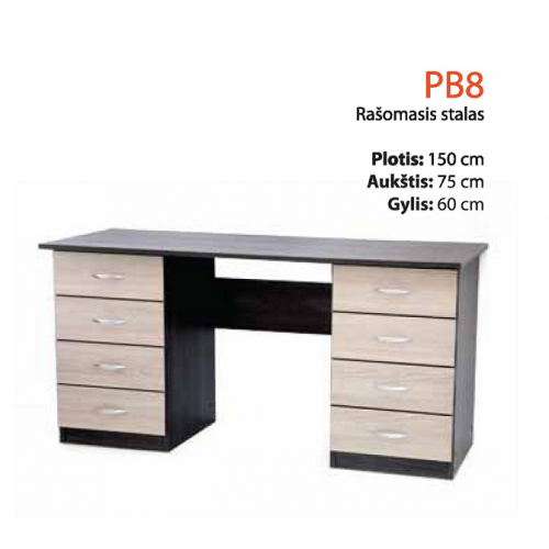 Rašomasis stalas PB-8