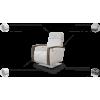 AMBER fotelis, argonomiškas patogus , minkštas, Magrės baldai