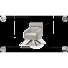 BIG fotelis, argonomiškas patogus , minkštas, Magrės baldai