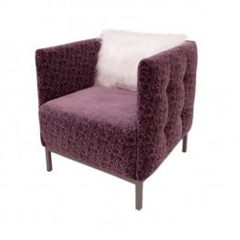 DOMINO fotelis, argonomiškas patogus , minkštas, Magrės baldai