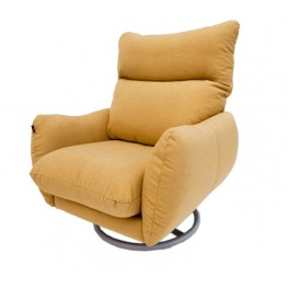 GRETA fotelis, argonomiškas patogus , minkštas, Magrės baldai