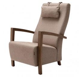 MIRA fotelis, argonomiškas patogus , minkštas, Magrės baldai