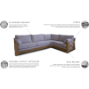 MAGNUS  minkštas svetainės kambario miegamas kampas, Magrės baldai