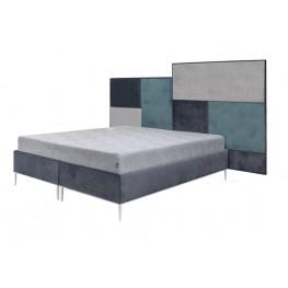 DOMINO MEGA lova, minkšta miegamojo kambario lova, Magrės baldai