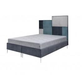 DOMINO MINI miegamojo įvairių dydžių miegama minkšta lova, Magrės baldai