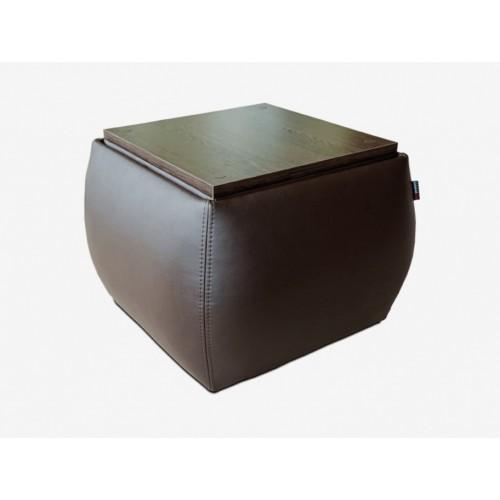 ATLANTIC PLIUS pufas- stalas  tinkantis bet kuriame svetainės, prieškambario, miegamojo kambariuose, Magrės baldai