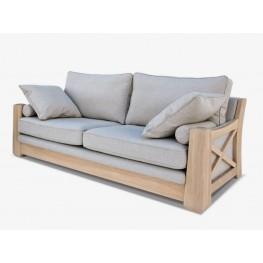 RIEŠĖ dvivietė  svetainės minkšta nemiegama sofa, Magrės baldai