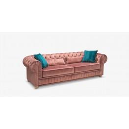 IMPERIJA svetainės kambario minkšta miegama trivietė sofa- lova , Magrės baldai
