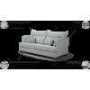 LUKA MAX minkštas svetainės kambario miegamas kampas, Magrės baldai