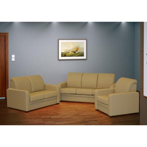 GINO minkštų baldų komplektas, fotelis, sofa, sofutė miegama
