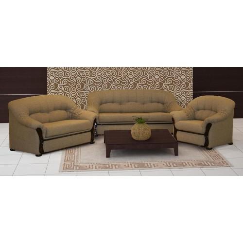 LIUCIJA komplektas minkštų baldų ( sofa-lova, sofa, fotelis) svetainės