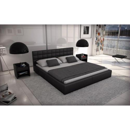 QUADRO lova, miegama , patalynės dėžė, mikšta