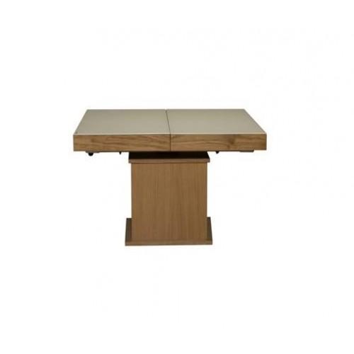 ART 322SB Medinis išlankstomas svetainės stalas transformeris