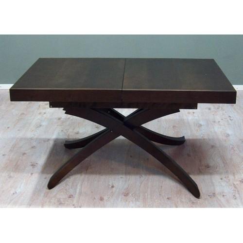 Art 327 Medinis svetainės baldų išlankstomas stalas transformeris