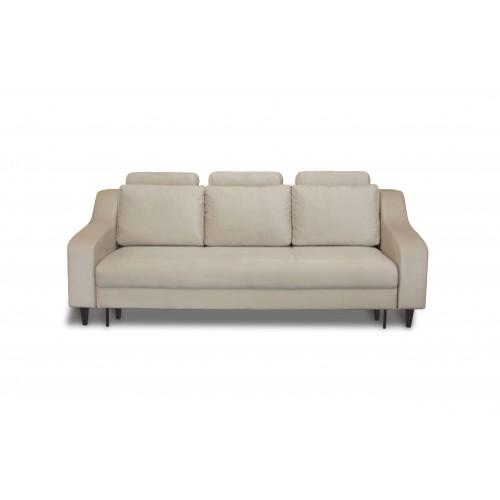 Nicole sofa, lova, miegama, patalynės dėžė, minkšta